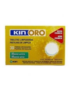 Kin Oro Tabletas Limpiadoras 30uds