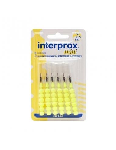 Interprox Cepillo Mini Amarillo 6uds