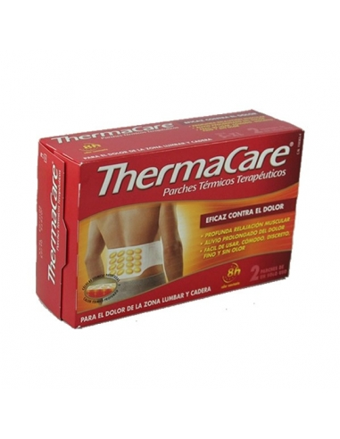 Thermacare Zona Lumbar Parches Cadera 2uds