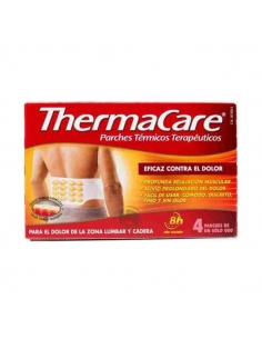 Thermacare Zona Lumbar Parches Cadera 4uds