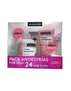 Suavinex Pack Antiestrias 400ml + Tubo 100ml