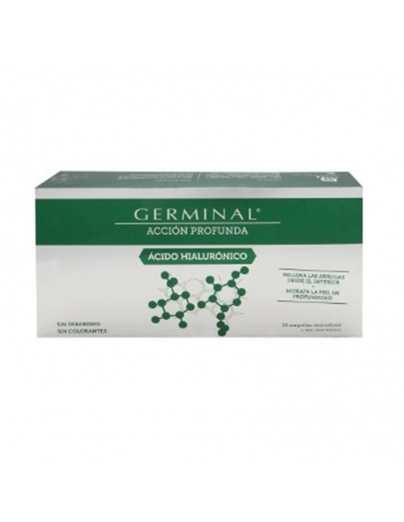 Germinal Accion Profunda Acido Hialuronico 30 Ampollas 1ml