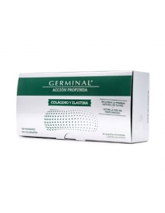 Germinal Accion Profunda Colageno Y Elastina 30 Ampollas 1ml