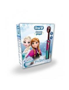 Oral B Pack Niños Cepillo Electrico Frozen + Estuche Promo