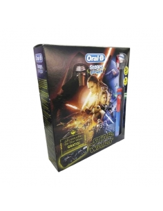 Oral B Pack Niños Cepillo Electrico Star Wars + Estuche Promo