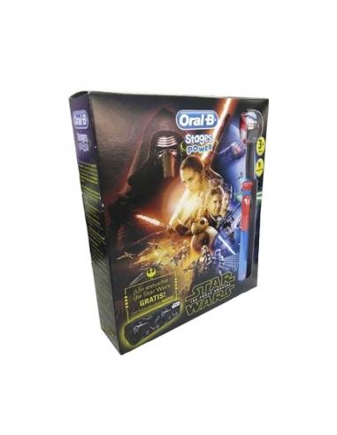 Oral B Pack Niños Cepillo Electrico Star Wars + Estuche Promo
