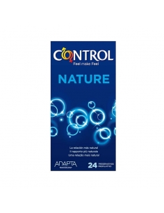 Control Preservativos Adapta Nature 24 Uds