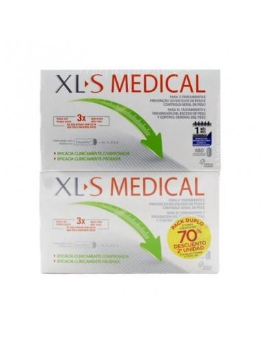 XLS Medical Captagrasas 2x180 Comprimidos