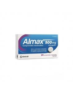 Almax 24 Comprimidos Masticables 500mg