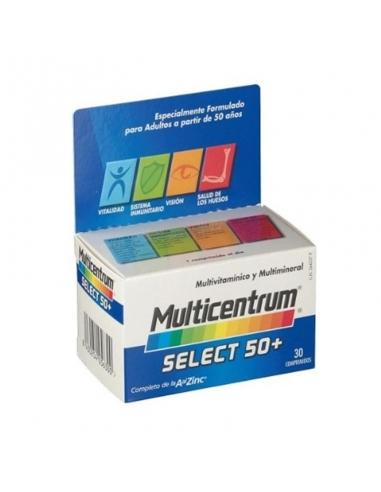 Multicentrum Select 50+ 30 Comprimidos