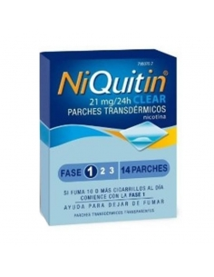 Niquitin Clear 21mg 14 Parches Transdermicos