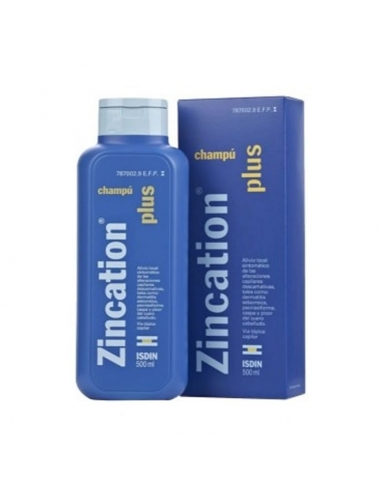 Champu Zincation Plus 500ml