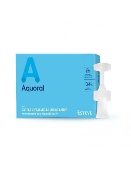 Aquoral Gotas Oftálmicas Lubricantes 20x0.5ml