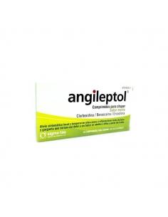 Angileptol Menta 30 Comprimidos