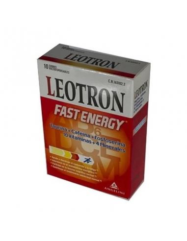 Leotron Fast Energy 10 Sobres 2gr