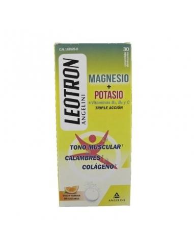 Leotron Magnesio + Potasio 30 Comprimidos