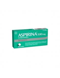 Aspirina 500mg Comprimidos 20uds