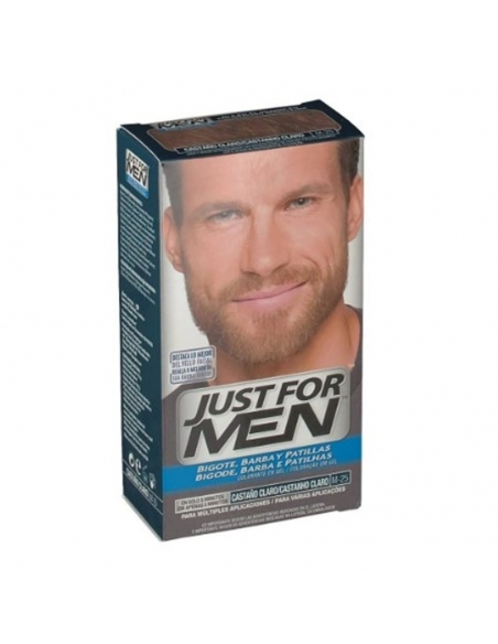 Just For Men Bigote y Barba Castaño Claro 30ml