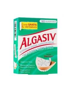 Algasiv Almohadilla Adhesiva Dentadura Superior 30 Uds