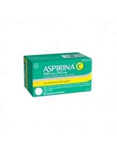 Aspirina C 400/240mg Comprimidos Efervescentes 20 uds