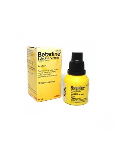 Betadine Solución Dérmica 50ml