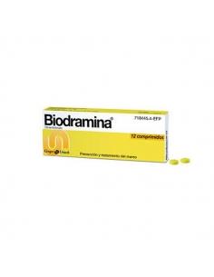 Biodramina 12 Comprimidos