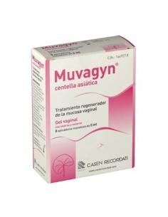 Muvagyn Centella Asiatica Gel Hidratante Vaginal 8x5ml