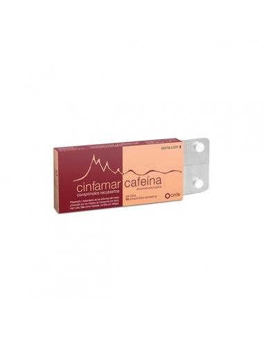 Cinfamar Cafeína 10 Comprimidos 50mg