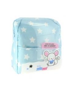 Sebamed Mochila Azul + Productos Cuidado Bebé