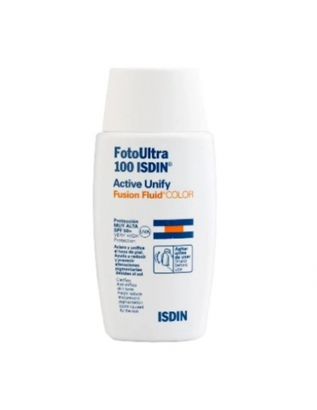 Isdin Fotoprotector Active Unify Fusion Fluid Color 50ml