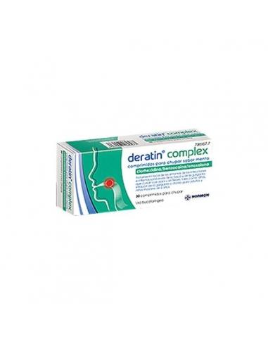 Deratin Complex Menta 30 Comprimidos