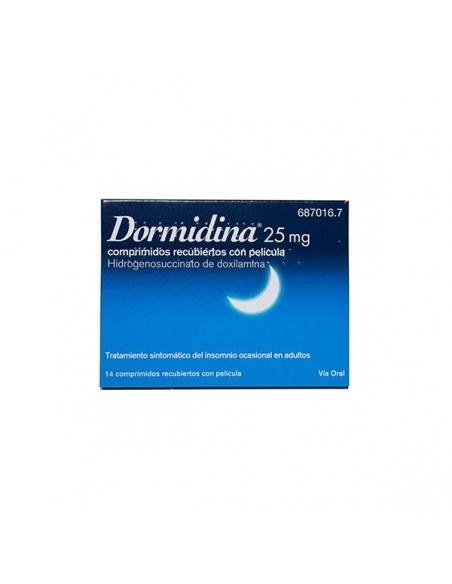 Dormidina Comprimidos 14x25mg