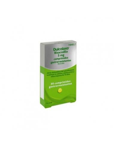 Dulco Laxo Bisacodilo 30 Comprimidos 5mg