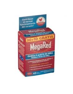 Megared 500 Omega 3 Aceite De Krill 30+10 Capsulas