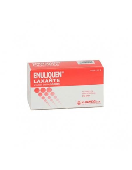 Emuliquen Laxante Emulsion Oral Sobres 10x15ml