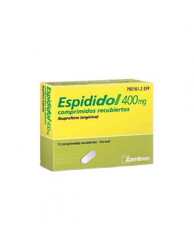 Espididol 400mg 12 Comprimidos Recubiertos