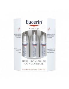 Eucerin Hyaluron Filler Antiedad Relleno Arrugas 6 Ampollas