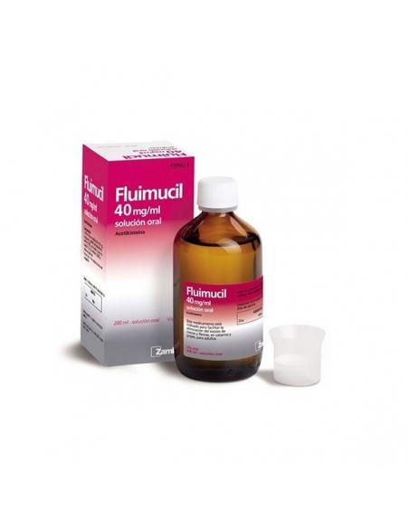Fluimucil 40mg/ml Solución Oral 200ml