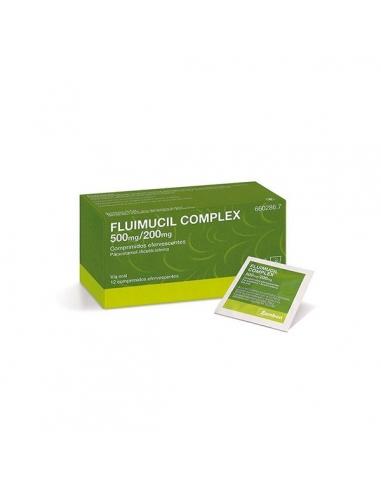 Fluimucil Complex 500/200mg 12 Comprimidos Efervescentes