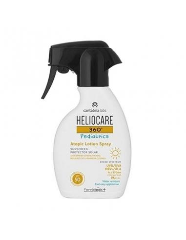 Heliocare 360º Pediatrics Atopic Spray Loción SPF50 250ml
