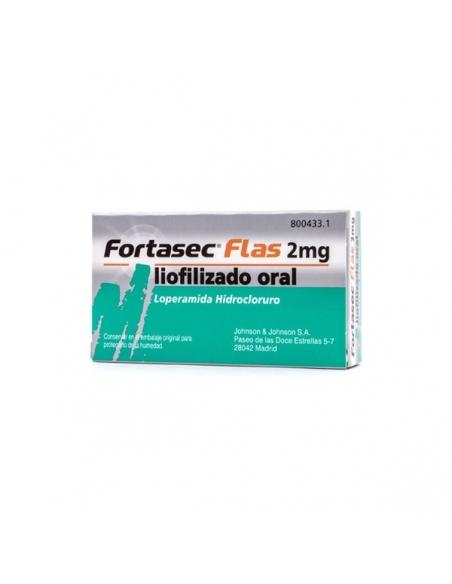 Fortasec Flash 2mg 12 Liofilizado Orales