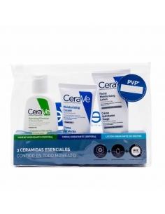 Cerave Limpiador Hidratante 88ml + Crema Hidratante 50ml + Loción 50ml