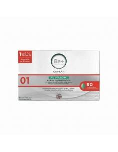 Be+ Tratamiento Capilar Anti-Caída Ocasional 90 Comprimidos