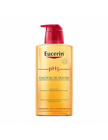 Eucerin Oleogel Aceite De Ducha Para Pieles Sensibles 400ml