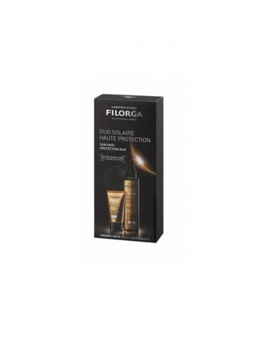 Filorga Duo UV-Bronze Facial +50 Promo +UV Bronze Corps SPF30 2x1 Duplo