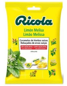 Ricola Bolsa Limón Melisa sin azúcar 70gr