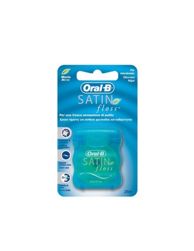 Oral B Seda Dental Satin Floss Menta 25M