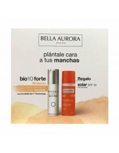 Bella Aurora Bio 10 Forte M-Lasma 30ml + Solar SPF50 Piel Sensible 50ml
