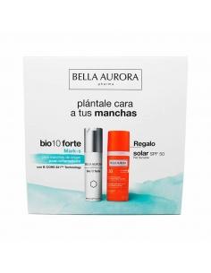 Bella Aurora Bio 10 Forte Mark-S 30ml + Solar SPF50 Piel Sensible 50ml