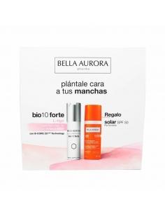 Bella Aurora B io 10 Forte L-Tigo 30ml + Solar SPF50 Piel Sensible 50ml